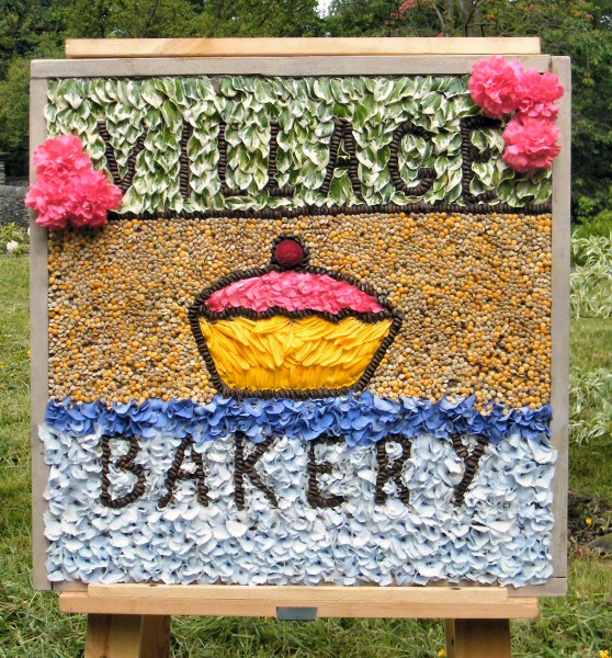 Disley 2013 - Village Bakery Well Dressing