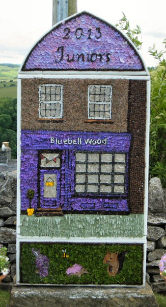 Over Haddon 2013 - Junior Well Dressing