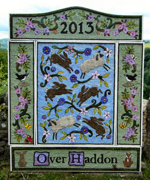 Over Haddon 2013 - Adult Well Dressing