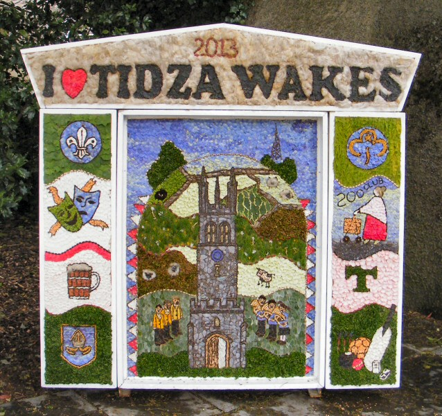 Tideswell 2013 - Community Well Dressing