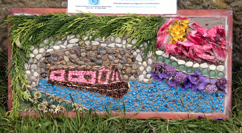 Whaley Bridge 2013 - Additional Well Dressing (Bridgemont Nursery)