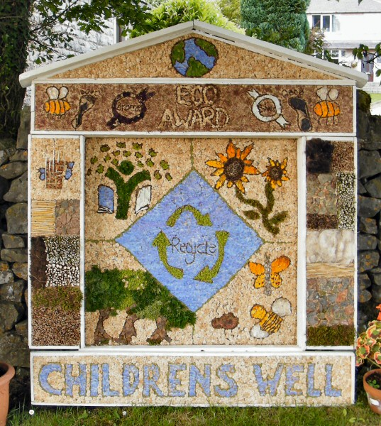 Peak Forest 2013 - Old Dam Well Dressing