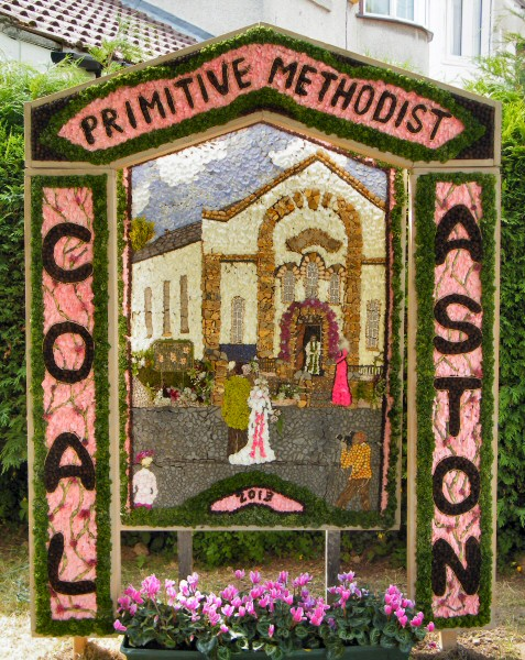 Coal Aston 2013 - Village Well Dressing