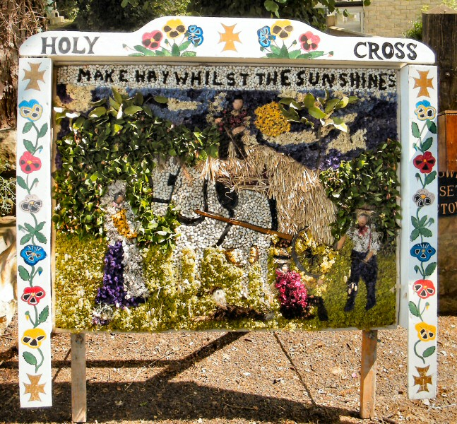 Upper Langwith 2013 - Langwith Residents Well Dressing
