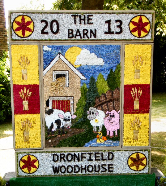 Dronfield Woodhouse 2013 - Main Well Dressing