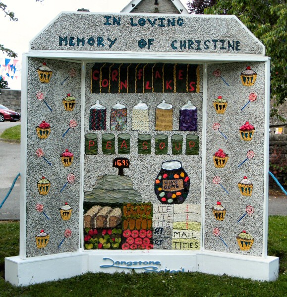 Great Longstone 2013 - Village Well Dressing