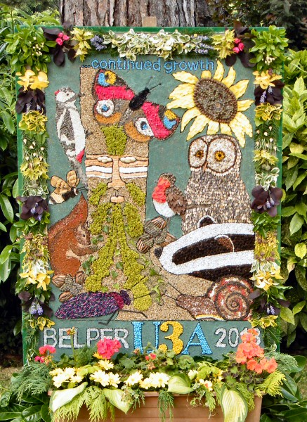 Belper 2013 - University of the Third Age Well Dressing
