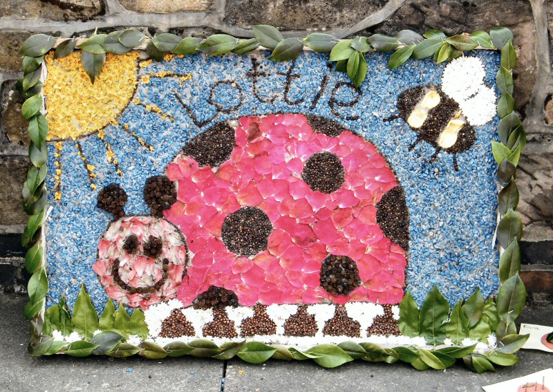 West Hallam 2013 - Village Pre-School Well Dressing