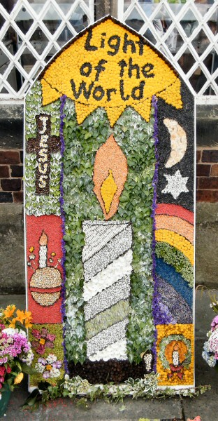 West Hallam 2013 - Scargill CE Primary School Well Dressing