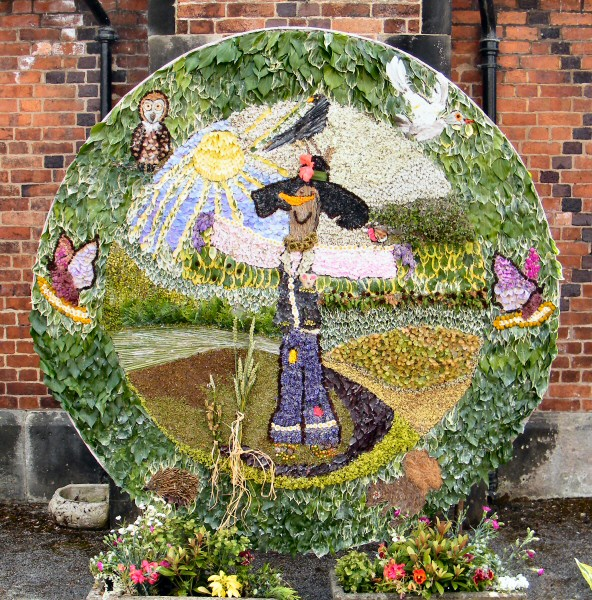 West Hallam 2013 - Personality Well Dressing