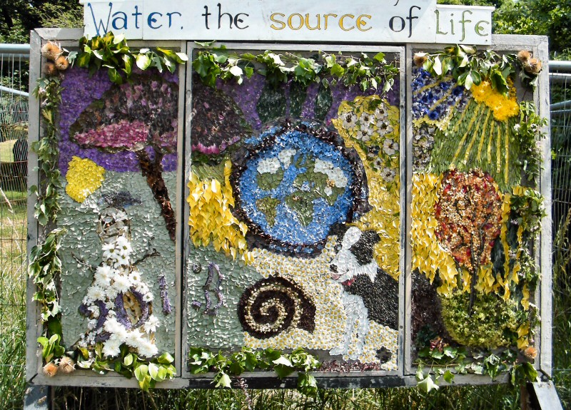 Burngreave Cemetery 2013 - Well Dressing