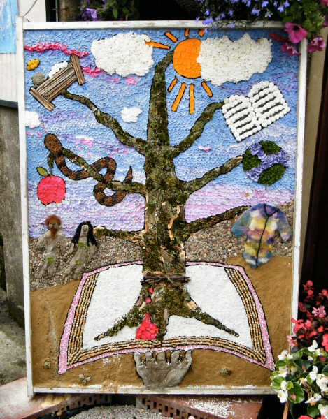 Bonsall 2013 - Wesleyan Chapel Well Dressing