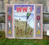 Darley Churchtown CE Primary School Well Dressing