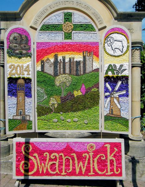 Swanwick 2014 - Main Well Dressing