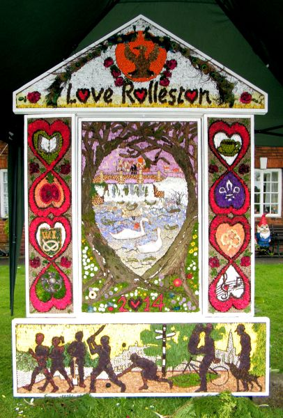 Rolleston-on-Dove 2014 - Main Well Dressing