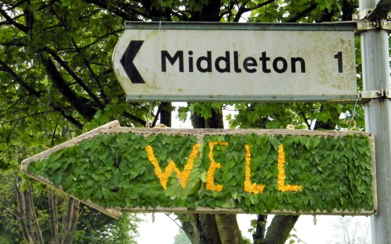 Middleton by Youlgrave 2014 - Fingerboard, north of village