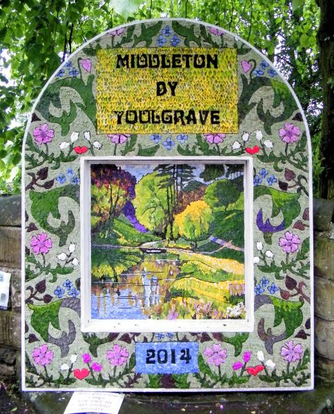 Middleton by Youlgrave 2014 - Village Well Dressing