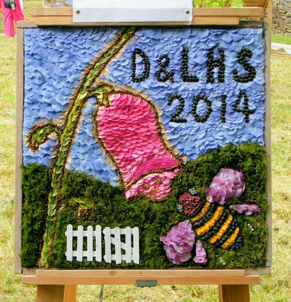 Disley 2014 - Disley & Lyme Horticultural Society Well Dressing
