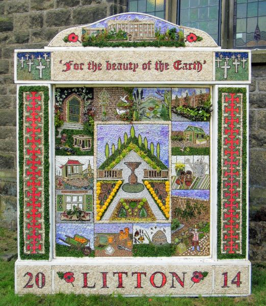 Litton 2014 - Methodist Church Well Dressing