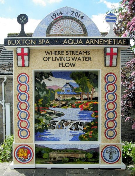Tideswell 2014 - Village Well Dressing