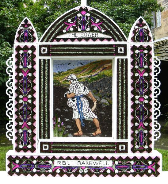 Bakewell 2014 - Royal British Legion Well Dressing