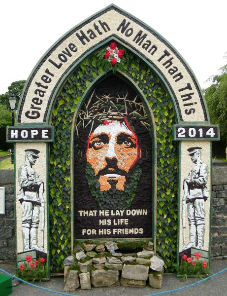 Hope 2014 - St Peter's Church Well Dressing