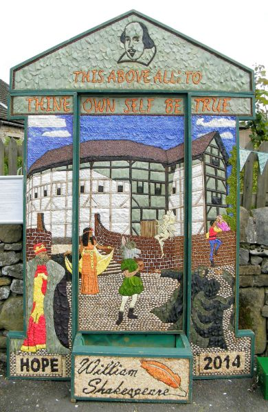 Hope 2014 - Edale Road Well Dressing