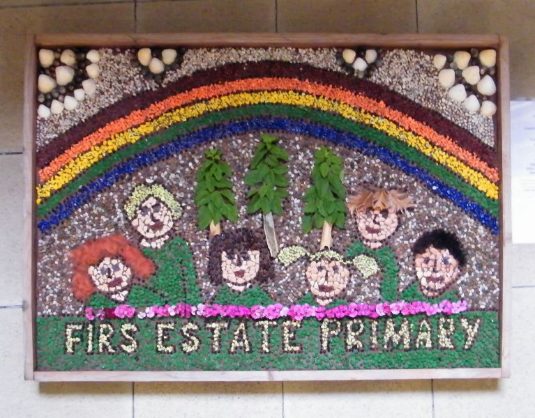 Derby 2014 - Firs Estate Primary School Well Dressing