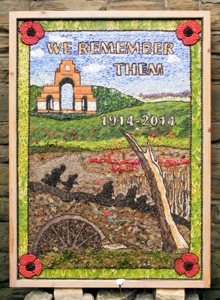 Walkley 2014 - St Mary's Church Well Dressing