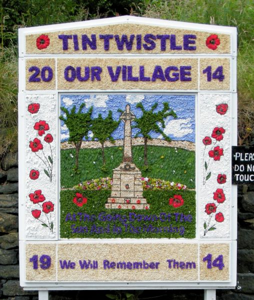 Tintwistle 2014 - Old Road Well