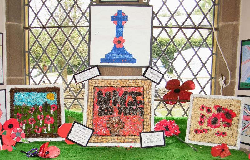 Buxworth 2014 - Chinley School Well Dressings