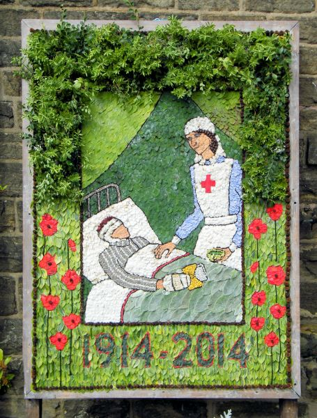 Whaley Bridge 2014 - Uniting Church Well Dressing