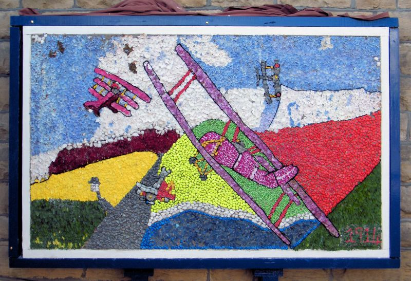 Aldercar 2014 - Church Well Dressing