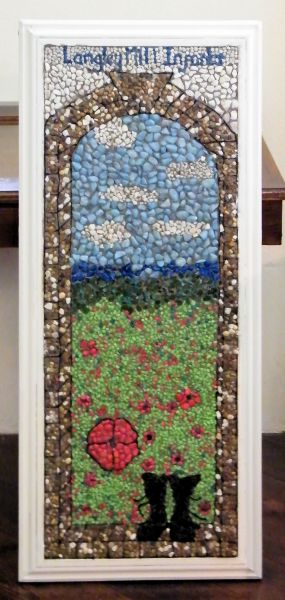 Aldercar 2014 - Langley Mill Infants School Well Dressing