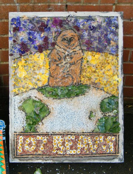 Aston-upon-Trent 2014 - Beavers Well Dressing