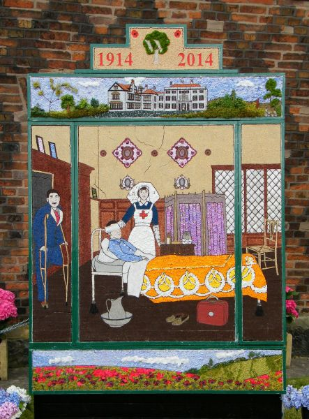 Aston-upon-Trent 2014 - Women's Institute Well Dressing