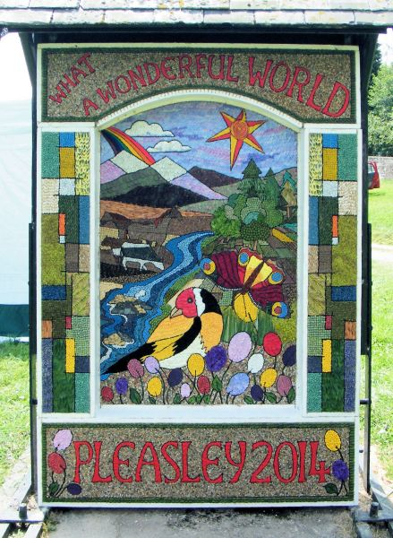 Pleasley 2014 - Main Well Dressing