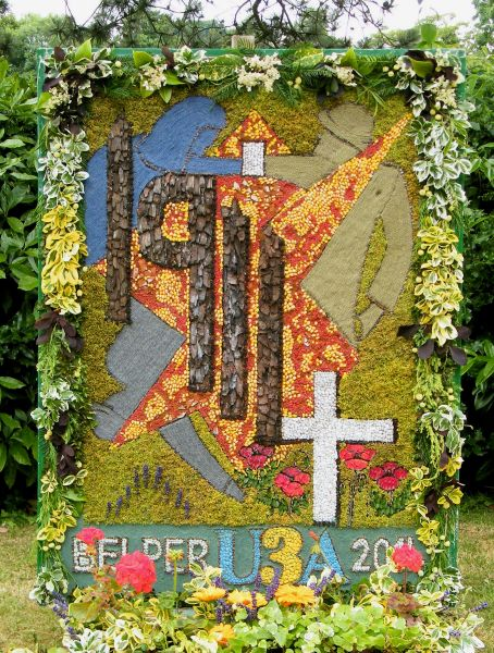 Belper 2014 - University of the Third Age Well Dressing