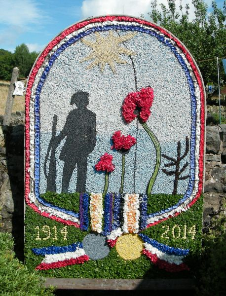 Brown Edge 2014 - Job's Pool Well Dressing