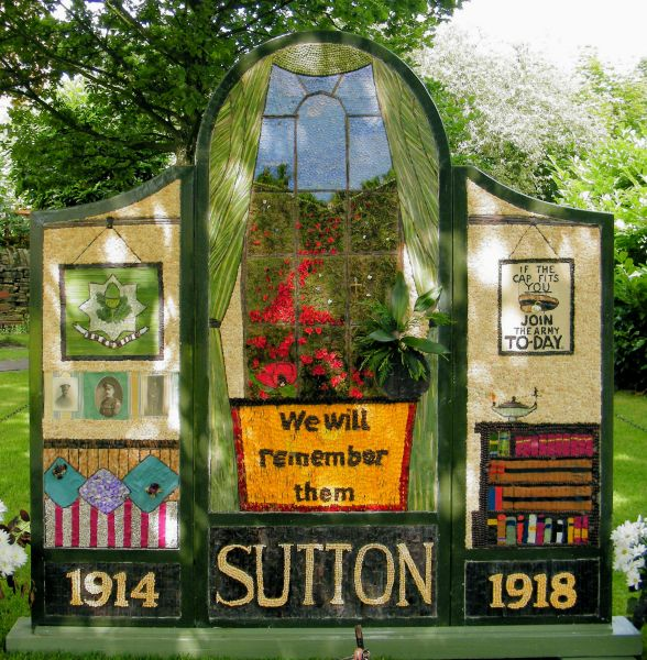 Sutton Lane Ends 2014 - The Pleasance Well Dressing