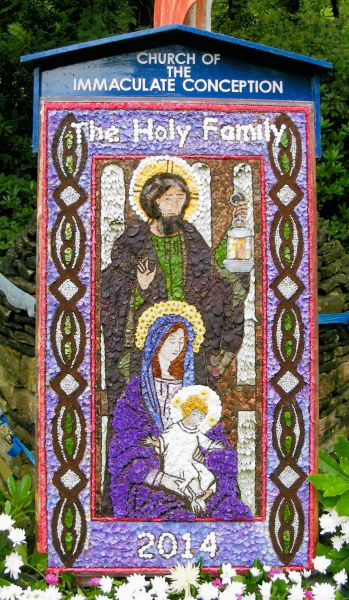 Charlesworth 2014 - Church of the Immaculate Conception Well Dressing (1)