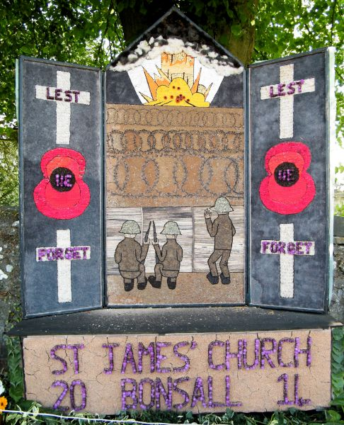 Bonsall 2014 - St James' Church Well Dressing
