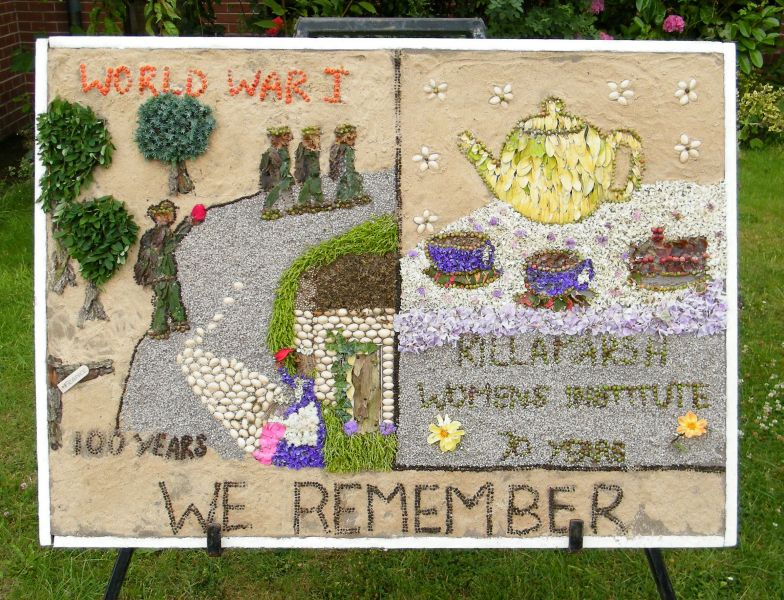 Killamarsh 2014 - Methodist Church Well Dressing