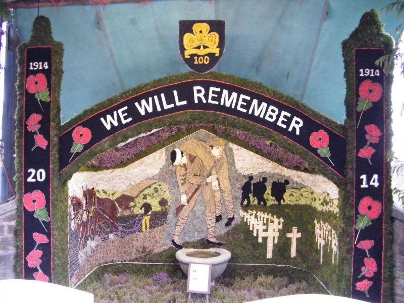 Barlow 2014 - Old Pump Well Dressing