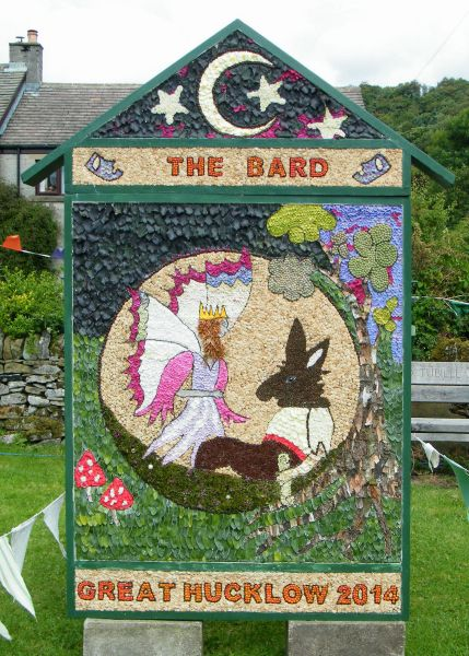 Great Hucklow 2014 - Village Well Dressing