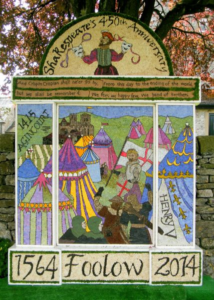 Foolow 2014 - Main Well Dressing