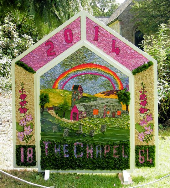 Wormhill 2014 - Children's Well Dressing