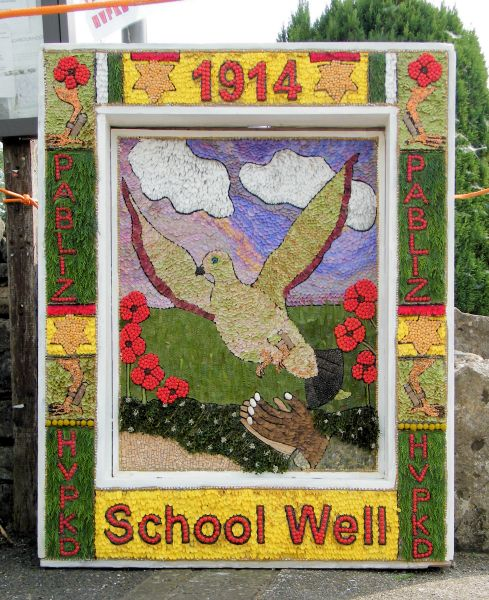 Hartington 2014 - School Well Dressing