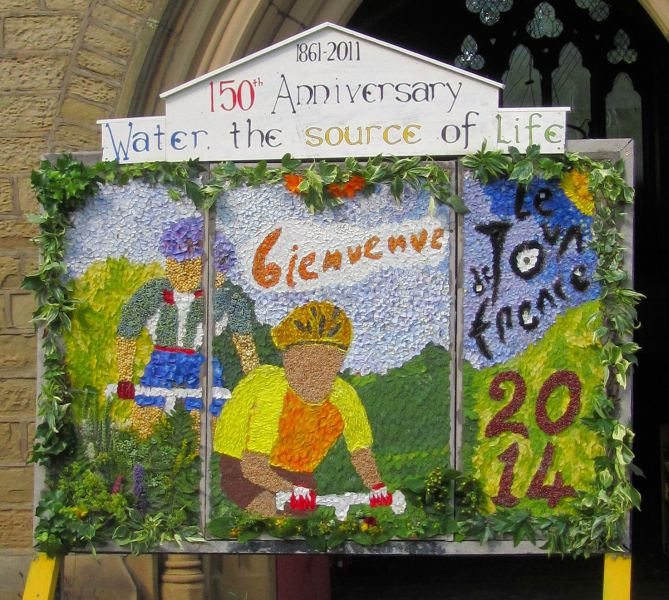 Burngreave Cemetery 2014 - Well Dressing