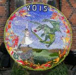 The Round Well Dressing